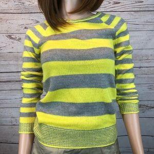 Aeropostale Yellow Gray-Purple Sweater SP #0570